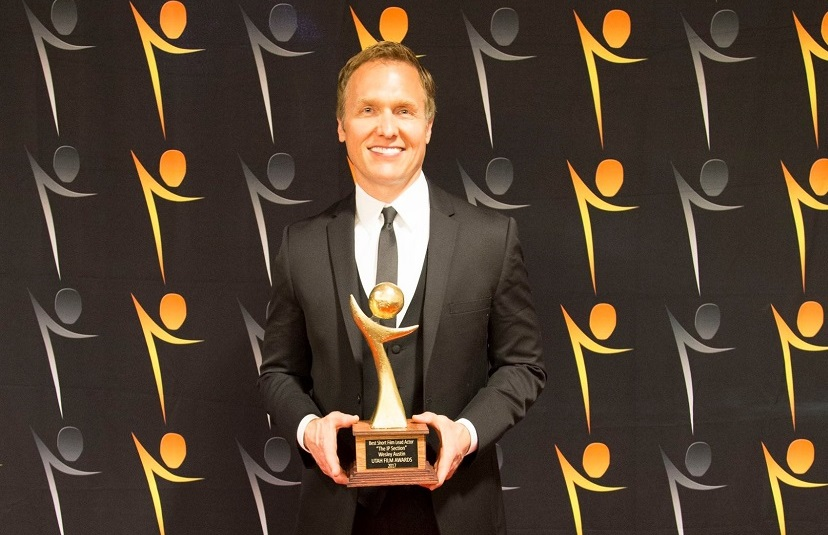 """Wesley Austin Wins Best Lead Actor in a Short Film for His Performance in """"The IP Section"""" at the Utah Film Awards"""